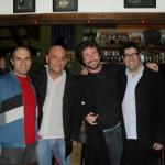 Julio Herrlein, Ricardo Baumgarten, Michel Dorfman e Kiko Freitas